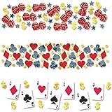 Amscan Casino Konfetti (Pack von 3)