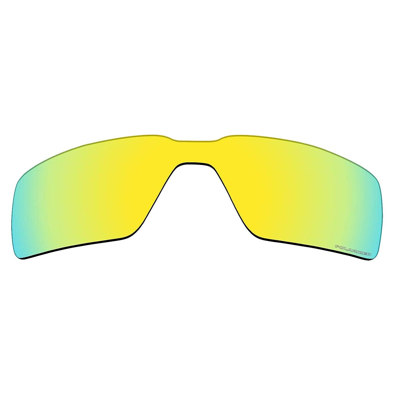 00e55d362d Amazon.com  Mryok+ 2 Pair Polarized Replacement Lenses for Oakley Probation  Sunglass - Cobalt Rose 24K Gold  Sports   Outdoors