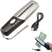 TTnight Mini Paper Shredder, Portable Handheld USB Powered Paper Segments Shredder Cutter Home Office