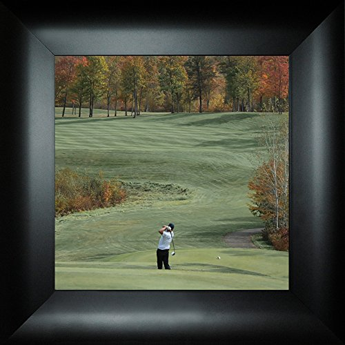 A Shot of Color By Todd Thunstedt 18x18 Sports Golf Club Cart Electric Gas Hole In One Bogey Shoes Shirt Pants Marker Tee Box Scorecard U.S. Open Framed Art Print Wall Décor Picture