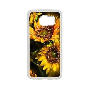 Creative Phone Case Sunflower For Samsung Galaxy S6 F568646