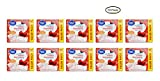 PACK OF 10 - Great Value Frosted Toaster Pastries, Strawberry, 29.3 oz, 16 Count