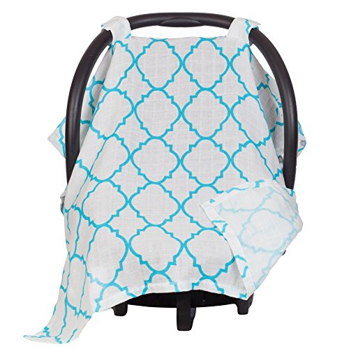 Maddie Moo Muslin Carseat Canopy product image
