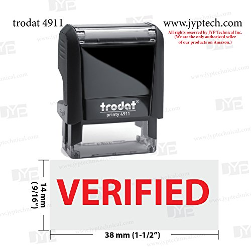 Trodat Rectangle Inking Rubber Verified product image