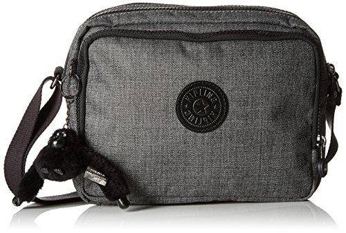 Kipling Silen - Night Blue Emb Grey (Cotton Grey)