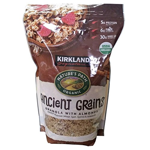 Kirkland Signature Nature's Path Organic Ancient Grains with Almonds, 35.3 Ounce