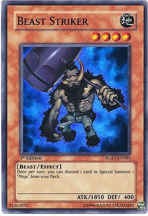 - Yu-Gi-Oh! - Beast Striker (RGBT-EN085) - Raging Battle - Unlimited Edition - Super Rare