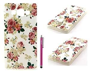 Samsung Galaxy A5 Case, FIBEST Cute Slim Soft Flexible TPU GEL Back Case Protective Skin Cover for Samsung Galaxy A5 +Stylus Pen