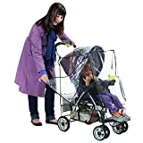 Nuby Deluxe Stroller Weather Shield, Clear