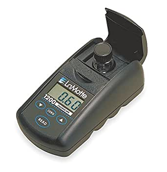 LaMotte 3670-01 Model DC1200-CL Single Test Colorimeter Kit, Chlorine Free and Total, 0-4 ppm Range, 0.5 Detection Limit, DPD Tablets Test Method