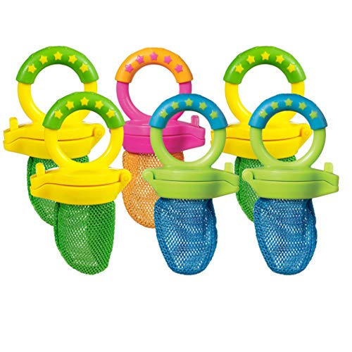Munchkin 6 Pack Fresh Food Feeder, Colors May Vary