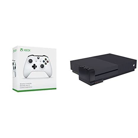Microsoft - Mando Inalámbrico, Color Blanco (Xbox One) Bluetooth + ...