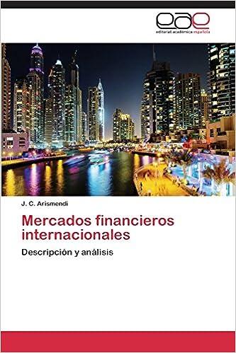 Book Mercados financieros internacionales: Descripción y análisis