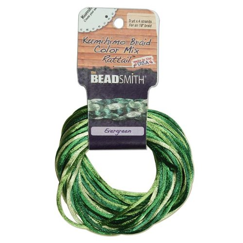 Top 1 best beadsmith rattail 2mm evergreen: Which is the best one in 2019?