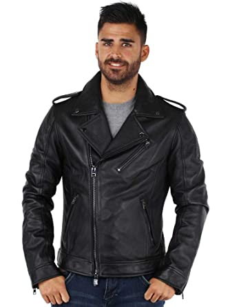 Veste Cuir Homme Oakwood Over Oakwood Cuir