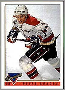 1993-94 Topps Premier #12 Peter Bondra WASHINGTON CAPITALS