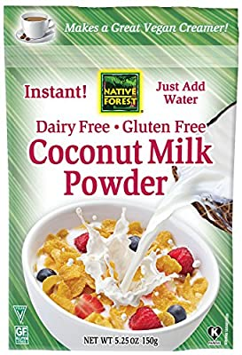 Native Forest Coconut Milk Powder, 5.25 Ounce (Pack of 6) from Native Forest
