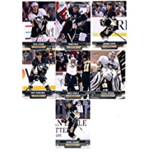 2013-14 Upper Deck NHL Hockey Pittsburgh Penguins Series 1 & 2 Veterans Team Set -14 Cards Including: Brooks Orpik James Neal Kris Letang Tomas Vokoun Chris Kunitz Matt Niskanen Sidney Crosby