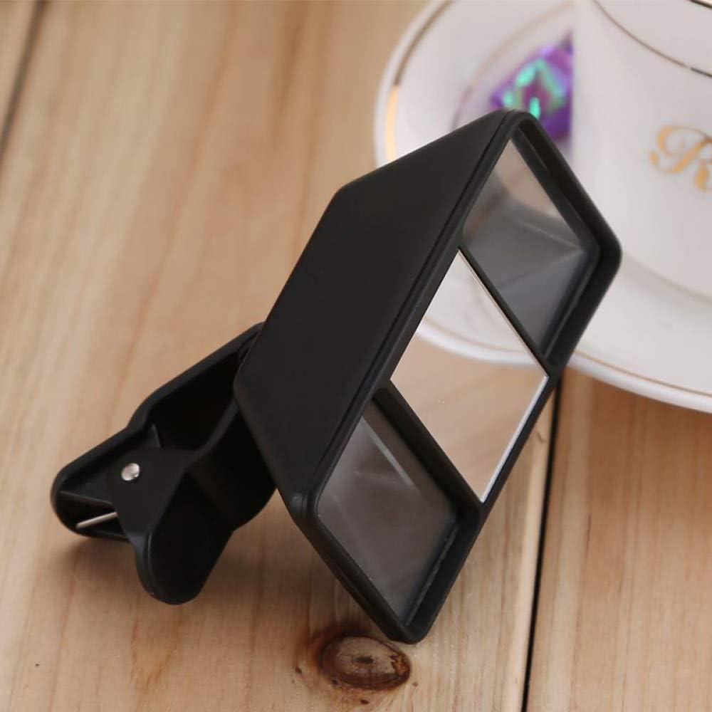YHWWSJJT Taschenuhr Handy 3D-Handy Objektiv Stereoskopisches Objektiv Hochwertige Smartphone 3D-Kamera Stereo-Fotos Fisheye-Objektiv mit Clip