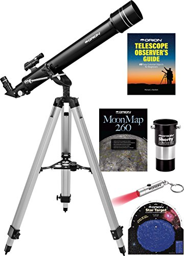 Orion Observer II 70mm Altazimuth Refractor Telescope Kit ()