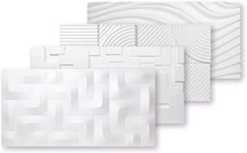 3d Platten Styropor Eps Paneele Wand Und Deckenverkleidung Wasserfest Dekorplatten 3 Dimensional 96x48cm Pd 1 Amazon De Baumarkt