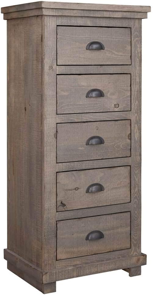 Progressive Furniture Lingerie Chest, Gray