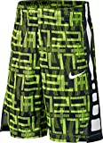 NIKE Elite Big Kids' (Boys') Printed Basketball Shorts - Yellow (X-Large)