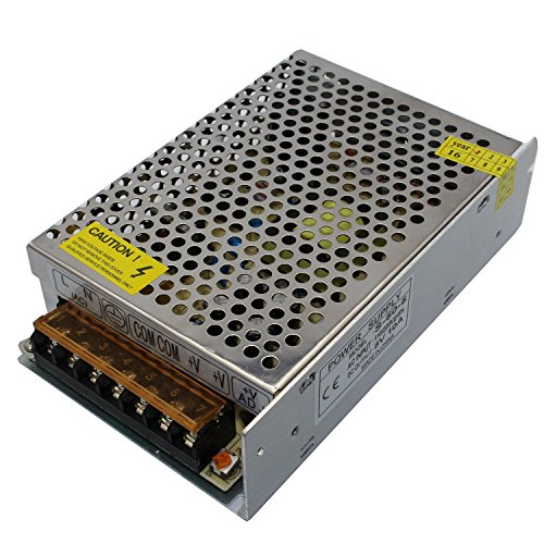 5V Power Supply, VCZHS DC 5V 10A Universal Regulated Switching Power Supply for LED Strip light, CCTV, Radio, Computer Project etc