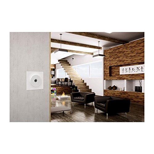 SCHNEIDER ELECTRIC Plaque de finition 1 poste Odace Styl blanc