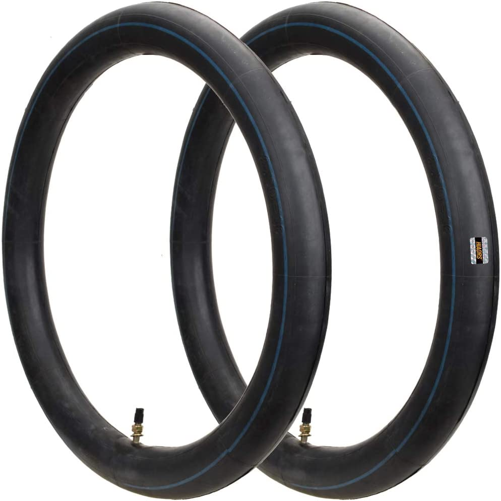 HIAORS 3.00-16 3.25//3.50-16 Motorcycle Inner Tube With Straight Valve Stem for 90//100-16 100//80-16 100//90-16 50cc 90cc 110cc Pit Dirt Bike 16 inch Tire Replacement Tube 2Pcs