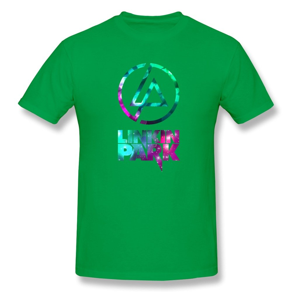 BOAIS Rock Band Linkin Park Logo Design Short Sleeve T Shirts for Boys
