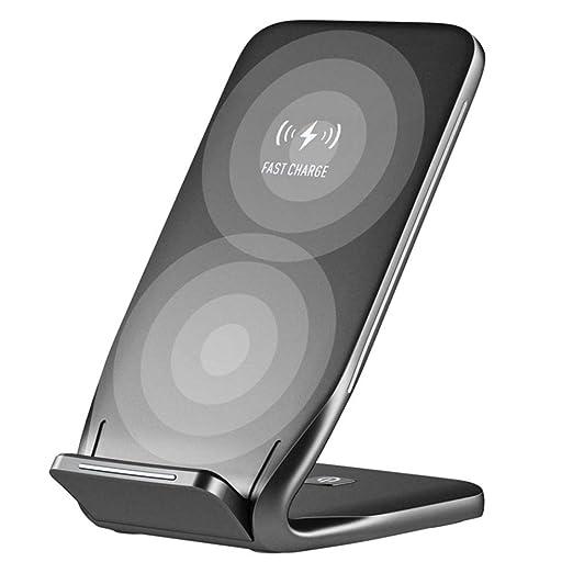 FLYWM Qi de Cargador inalámbrico para iPhone X 8 Samsung ...