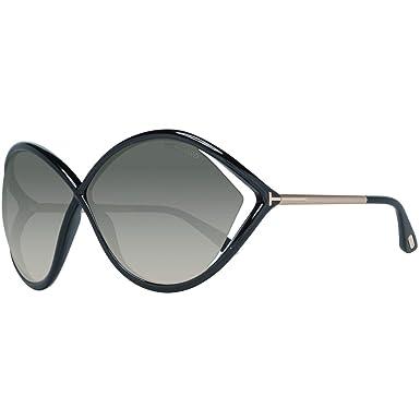 Tom Ford Mujer Sonnenbrille FT0528 01B 70 Gafas de sol ...
