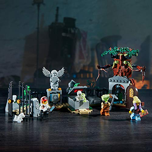 51Z FNQxNFL - LEGO Hidden Side Graveyard Mystery 70420 Building Kit, App Toy for 7+ Year Old Boys and Girls, Interactive Augmented Reality Playset, New 2019 (335 Pieces)
