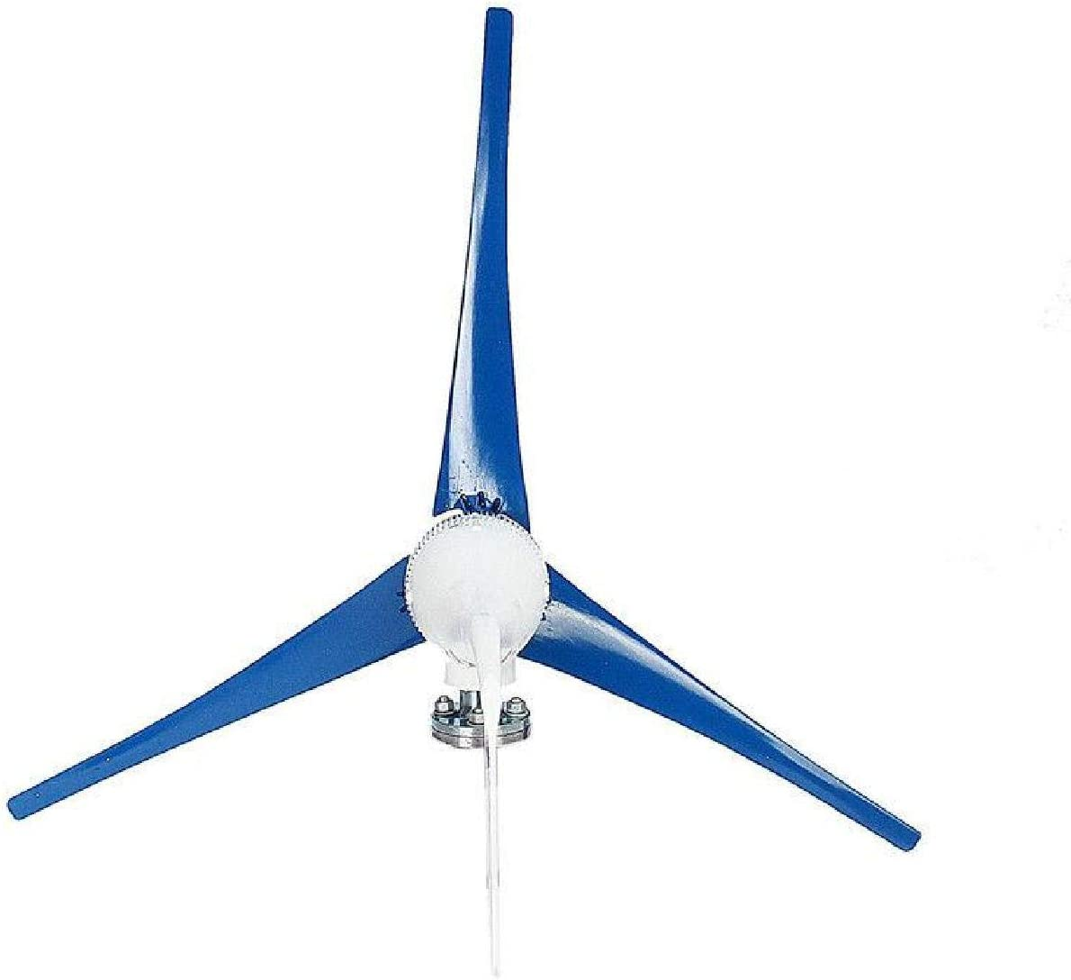 Dyna-Living Wind Turbine Generator 800W 24V Businesses 3 Blade with Controller for Marine RV Homes Industrial Energy