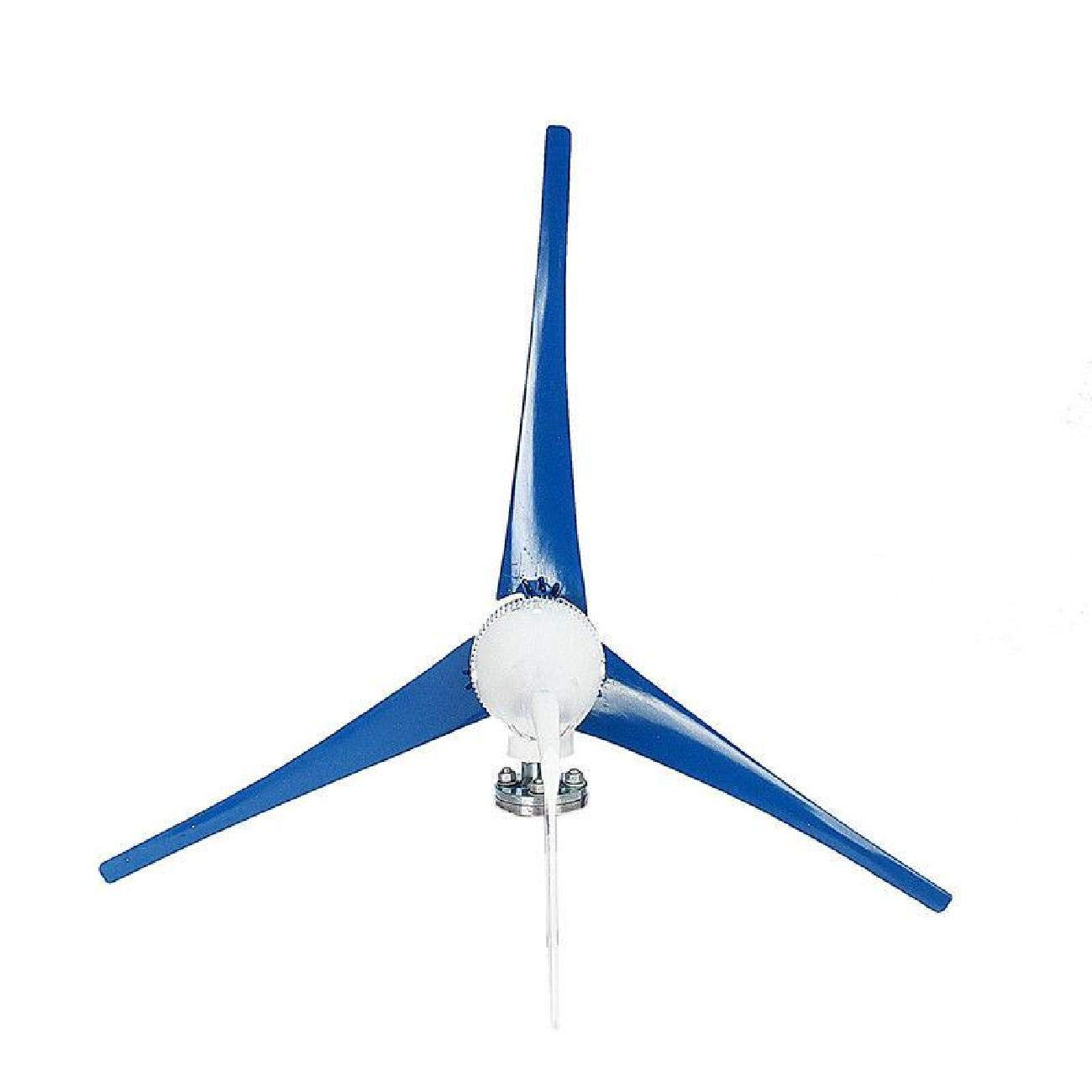 Dyna-Living Wind Turbine Generator 800W 12V Businesses 3 Blade with Controller for Marine RV Homes Industrial Energy