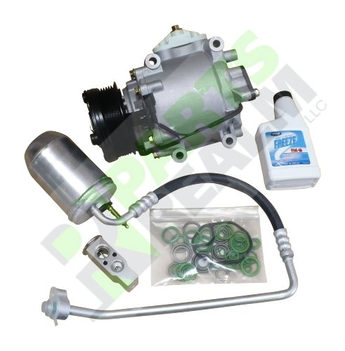 Parts Realm CO-0171AK2 Complete A/C AC Compressor Replacement Kit (Compressor Ford 2006 Freestyle Ac)