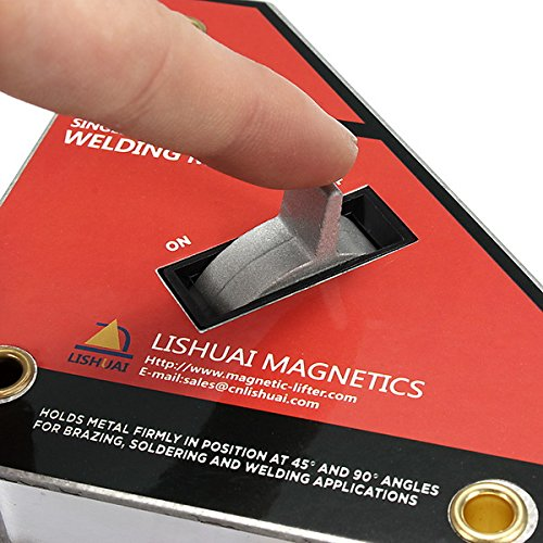 (Strong Single Switch Welding Magnet On/Off Switch Magnetic Clamp Small)