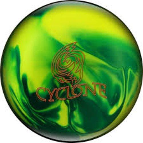 Ebonite Cyclone Bowling Ball, Green/Yellow, 10 (Ebonite Bowling Ball 10)