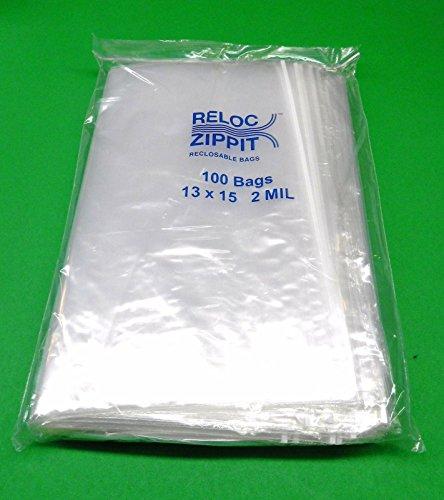 (Reloc 500 PCS Large Ziplock 13