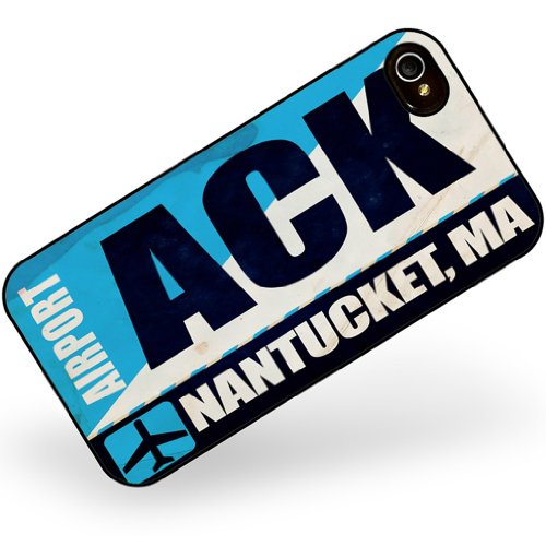 iphone 4 4s Airportcode ACK Nantucket, MA - Neonblond