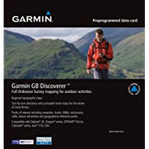 Garmin GB Discoverer 2010 Northern England/Midlands Topographical Map microSD Card
