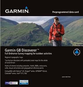 Garmin GB Discoverer - Mapas para GPS, cobertura geográfica Escocia, escala 1:50.000 (010-C1035-00)