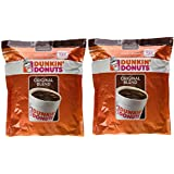 Dunkin' Donuts Original Blend Medium Roast Ground Coffee 100 % Premium Arabica Coffee 40 oz. (Pack of 2)
