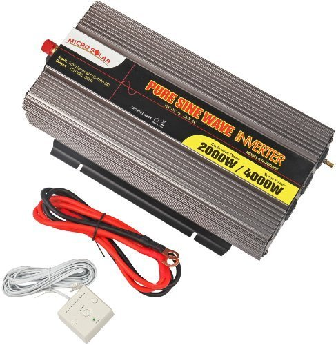 microsolar-12v-2000w-peak-4000w-pure-sine-wave-inverter-with-battery-cable-remote-wire-controller