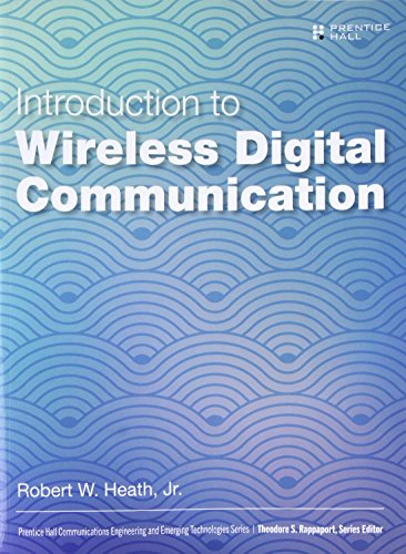 - Introduction to Wireless Digital Communication: A Signal Processing Perspective