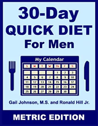30-Day Quick Diet for Men - Metric Edition (English Edition ...