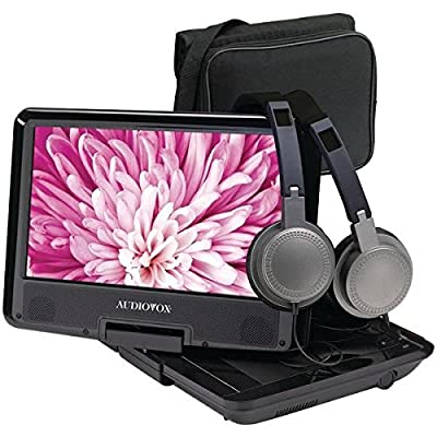 AudioVox Swivel Portable DVD Player by Audio Craft