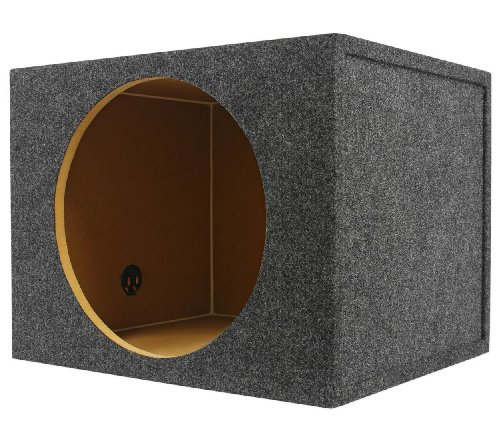 Rockville RSQ15 Single 15″ 2.6 cu.ft. Sealed Car Subwoofer Enclosure Sub Box