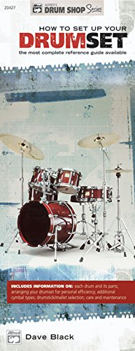 How To Set Up Your Drumset: The Most Complete Reference Guide Available (Alfred's Drum Shop Series)